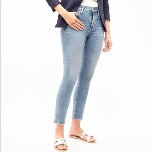 Citizens of humanity rocket high-rise crop jeans